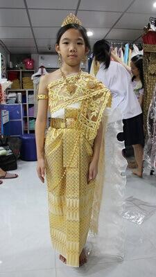 ชุดไทยเด็กผู้หญิง
