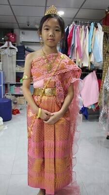 เช่าชุดไทยเด็กหญิง