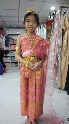เช่าชุดไทยเด็กผู้หญิง