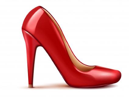 4. ทริคจับคู่รองเท้า ให้เข้ากับชุดราตรี